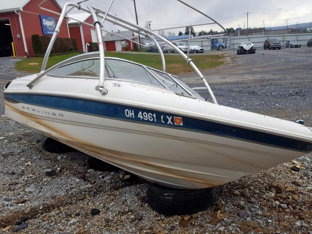 Bayliner salvage cars for sale: 2000 Bayliner Boat Only
