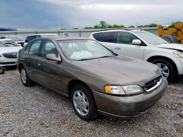 Nissan Altima XE salvage cars for sale: 1998 Nissan Altima XE