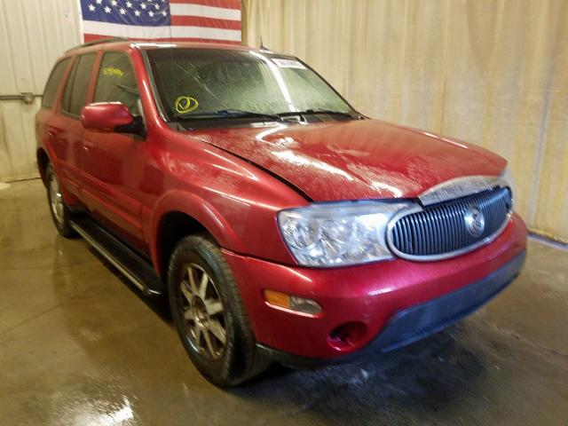 Buick Rainier CX salvage cars for sale: 2005 Buick Rainier CX