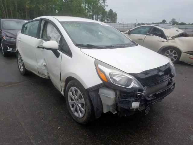 Salvage cars for sale from Copart Dunn, NC: 2015 KIA Rio EX