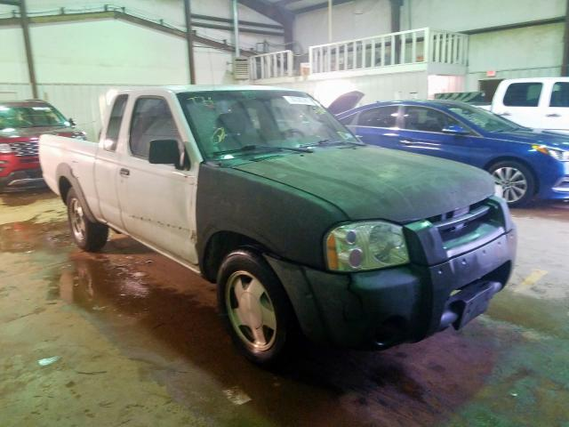 Salvage cars for sale from Copart Longview, TX: 2003 Nissan Frontier K