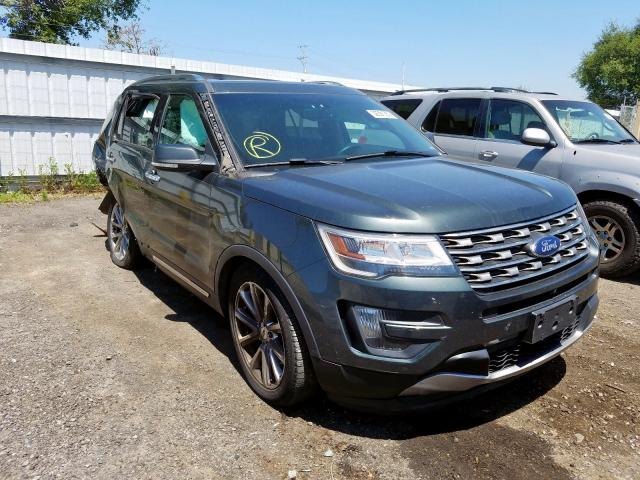 Ford Explorer L salvage cars for sale: 2016 Ford Explorer L