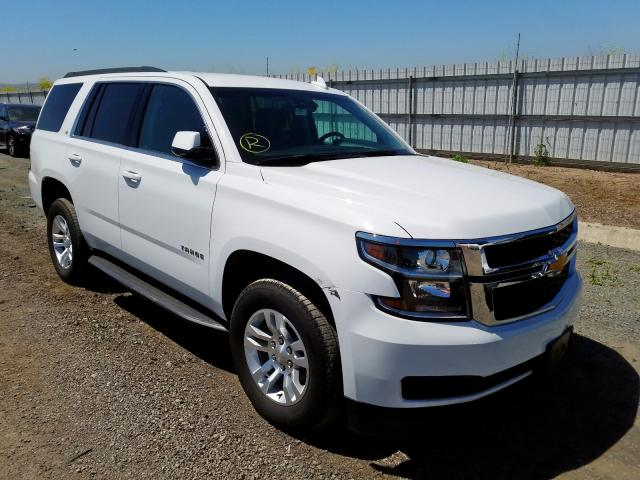 Chevrolet Tahoe C150 salvage cars for sale: 2019 Chevrolet Tahoe C150