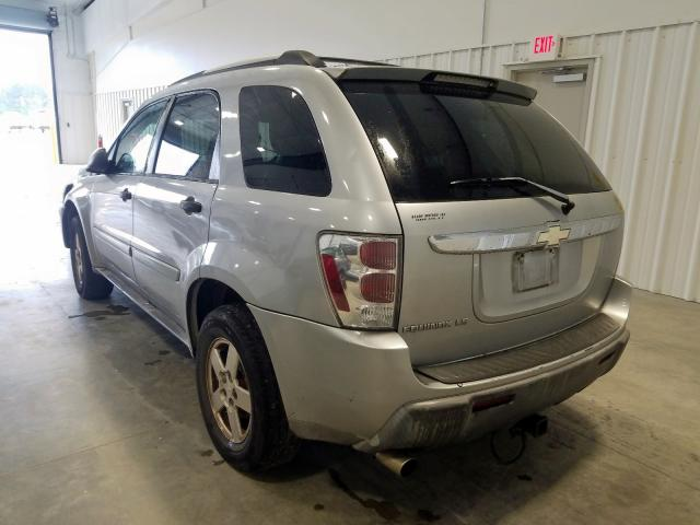 2005 CHEVROLET EQUINOX LS - Right Front View