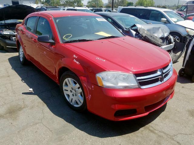 Auto Auction Ended On Vin 1c3cdzab7cn243483 2012 Dodge Avenger Se In Ca San Bernardino