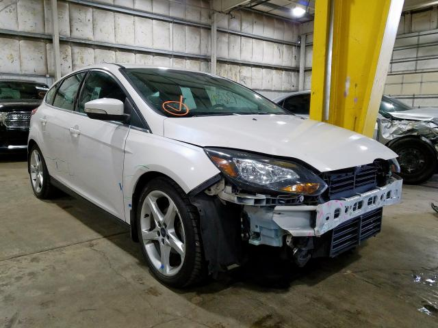 Ford Focus Titanium salvage cars for sale: 2013 Ford Focus Titanium