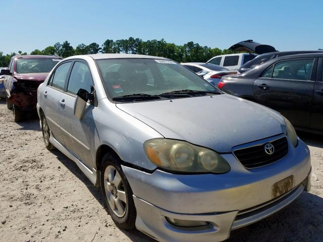Salvage cars for sale from Copart Houston, TX: 2004 Toyota Corolla