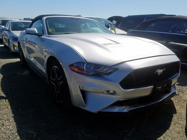 Ford Mustang GT salvage cars for sale: 2019 Ford Mustang GT