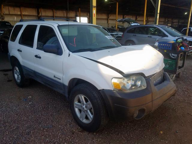 Ford Escape HEV salvage cars for sale: 2005 Ford Escape HEV
