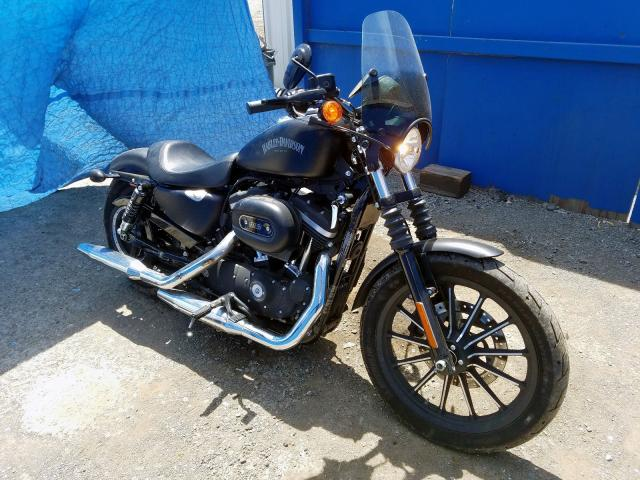Harley-Davidson salvage cars for sale: 2015 Harley-Davidson XL883 Iron