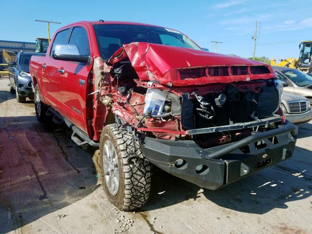 Toyota Tundra CRE salvage cars for sale: 2016 Toyota Tundra CRE