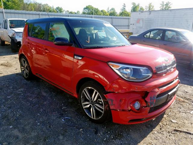 Salvage cars for sale from Copart Chatham, VA: 2019 KIA Soul +