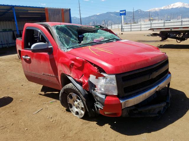 Salvage cars for sale from Copart Colorado Springs, CO: 2007 Chevrolet Silverado
