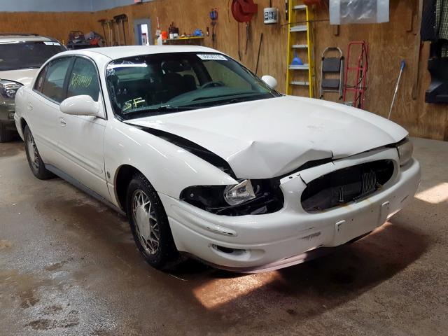 Salvage cars for sale from Copart Kincheloe, MI: 2002 Buick Lesabre LI