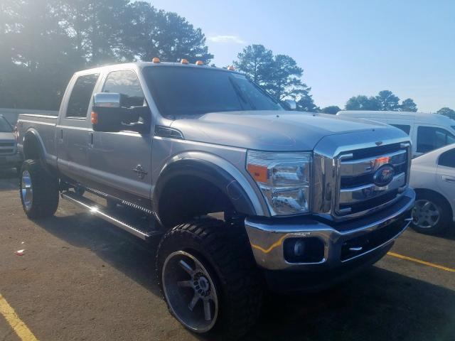 Ford salvage cars for sale: 2015 Ford F250 Super