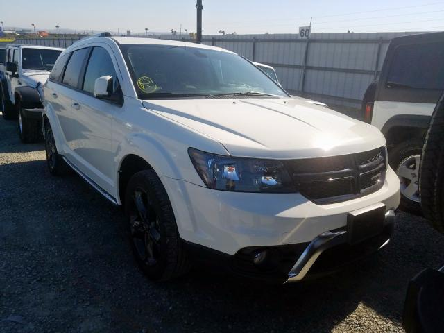 Dodge Journey CR salvage cars for sale: 2018 Dodge Journey CR