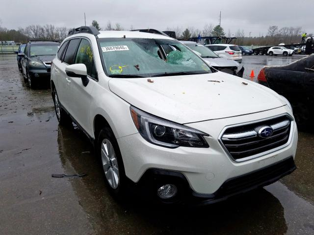 Subaru Outback 2 salvage cars for sale: 2018 Subaru Outback 2