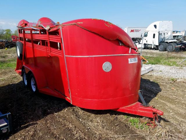 Horse Trailer salvage cars for sale: 1987 Horse Trailer
