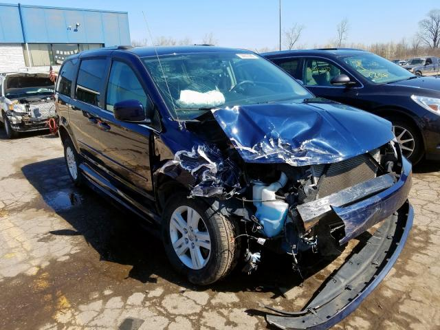 Salvage cars for sale from Copart Woodhaven, MI: 2013 Dodge Grand Caravan