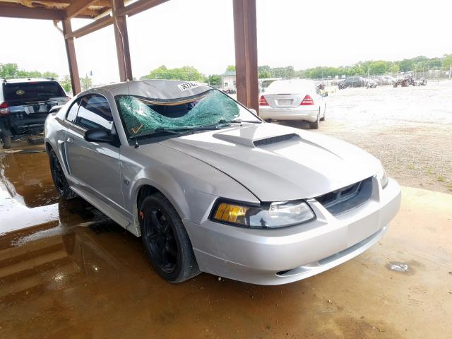 Ford Mustang GT salvage cars for sale: 2002 Ford Mustang GT