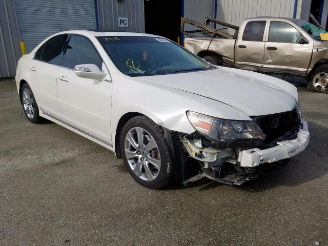 Acura RL salvage cars for sale: 2010 Acura RL