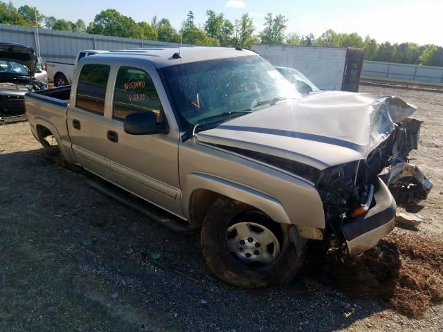 Salvage cars for sale from Copart Chatham, VA: 2005 Chevrolet Silverado