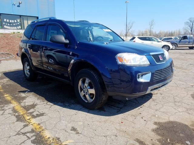 Salvage cars for sale from Copart Woodhaven, MI: 2007 Saturn Vue