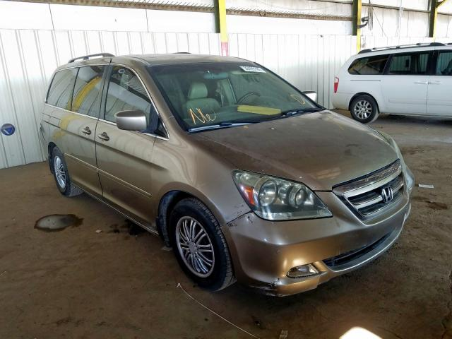Honda Odyssey TO salvage cars for sale: 2005 Honda Odyssey TO
