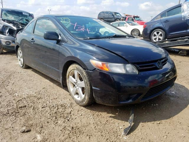 Salvage cars for sale at Indianapolis, IN auction: 2007 Honda Civic EX