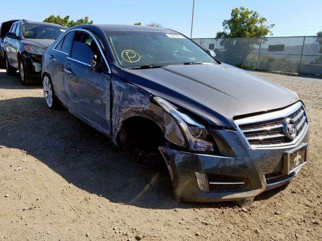 Salvage 2013 Cadillac ATS PREMIUM for sale