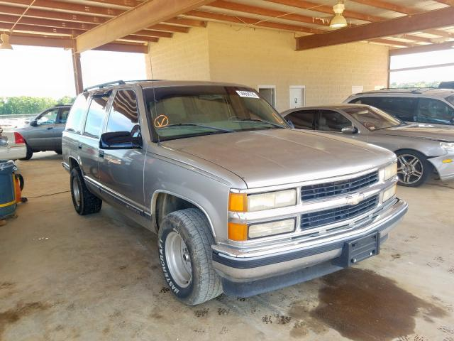 Chevrolet Tahoe C150 salvage cars for sale: 1999 Chevrolet Tahoe C150