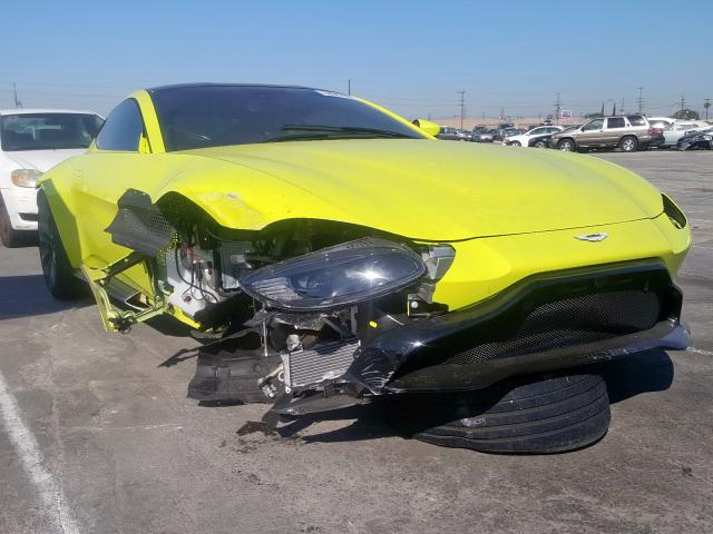 Aston Martin salvage cars for sale: 2019 Aston Martin Vantage
