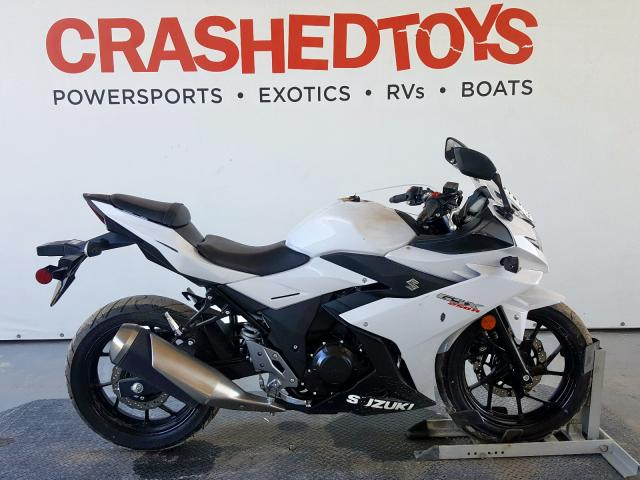 Suzuki GSX250R salvage cars for sale: 2018 Suzuki GSX250R