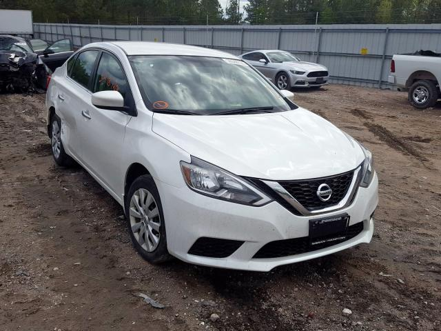 Salvage cars for sale from Copart Charles City, VA: 2017 Nissan Sentra S