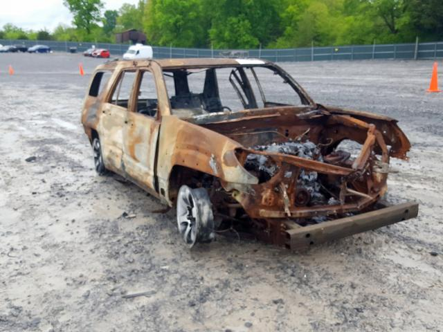 Salvage 2004 Toyota 4RUNNER LI for sale
