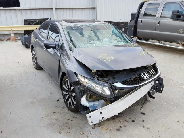 Salvage cars for sale from Copart Corpus Christi, TX: 2014 Honda Civic EXL