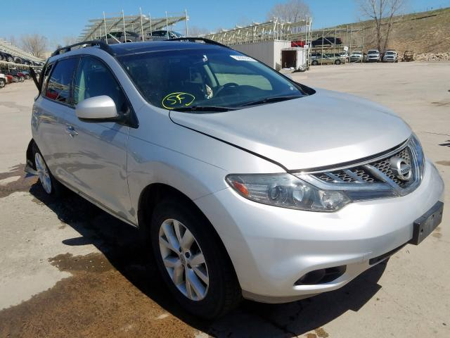 Nissan Murano S salvage cars for sale: 2011 Nissan Murano S