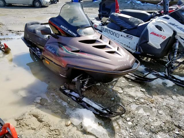 Salvage cars for sale from Copart Montreal Est, QC: 1996 Arctic Cat Pantera