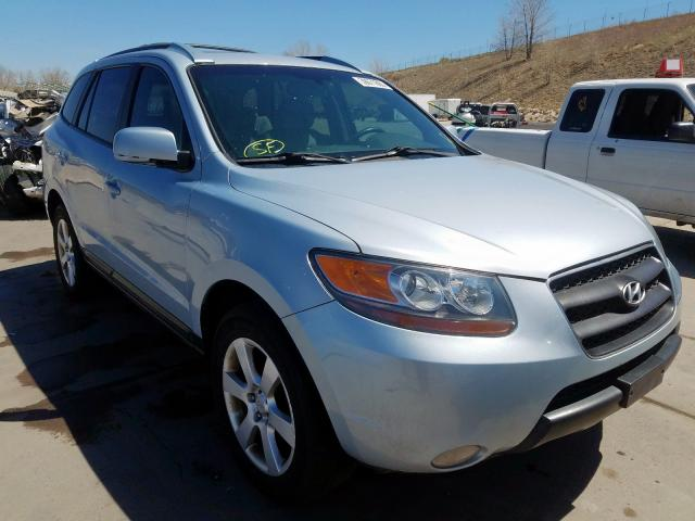 Hyundai Santa FE S salvage cars for sale: 2007 Hyundai Santa FE S