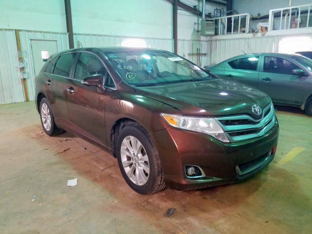 Salvage cars for sale from Copart Longview, TX: 2013 Toyota Venza LE