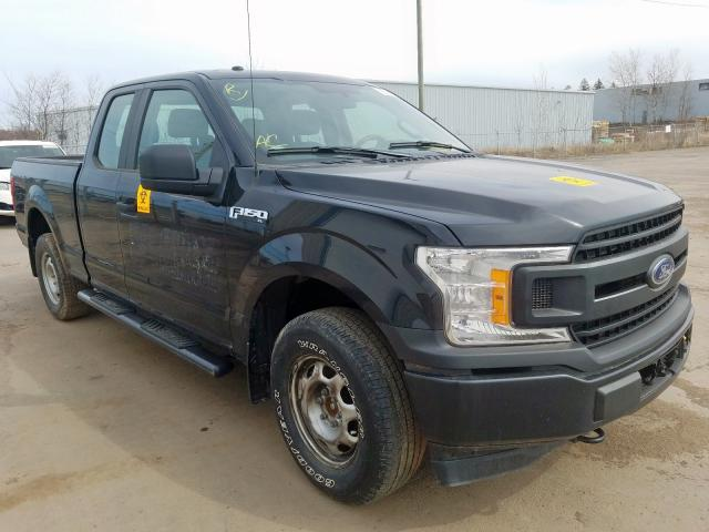 Salvage cars for sale from Copart Atlantic Canada Auction, NB: 2018 Ford F150 Super