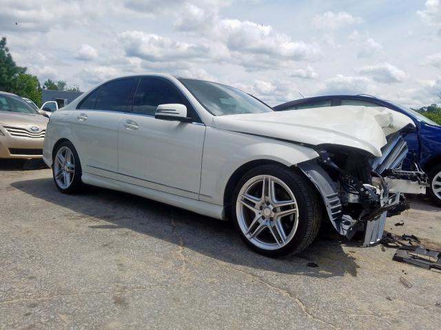 2011 Mercedes-benz C 350 3.5. Lot 36572190 Vin WDDGF5GB1BF646266