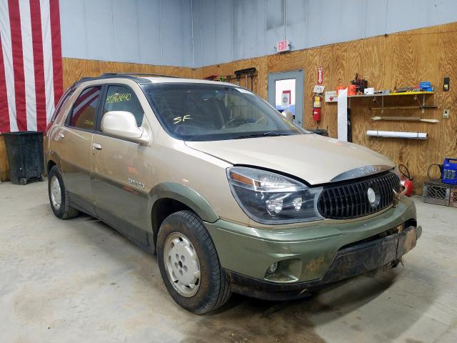 Salvage cars for sale from Copart Kincheloe, MI: 2002 Buick Rendezvous