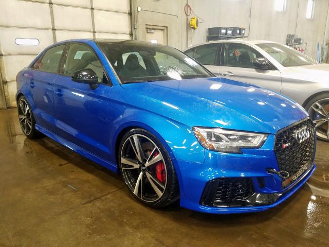 Audi RS3 salvage cars for sale: 2018 Audi RS3