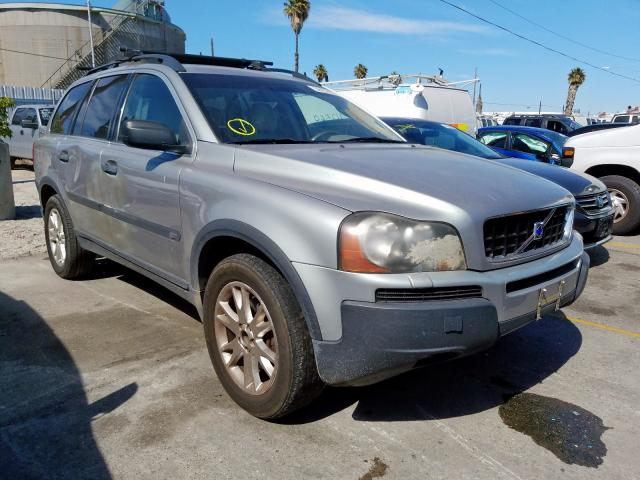 Volvo XC90 salvage cars for sale: 2004 Volvo XC90