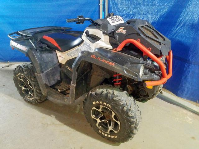 Salvage cars for sale from Copart Moncton, NB: 2017 Can-Am Outlander