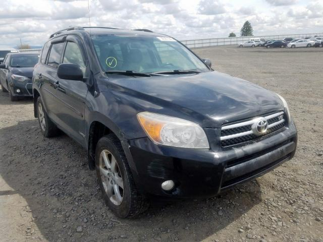 Salvage cars for sale from Copart Airway Heights, WA: 2007 Toyota Rav4 Limited