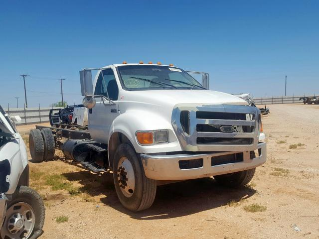 Salvage cars for sale from Copart Andrews, TX: 2009 Ford F750 Super