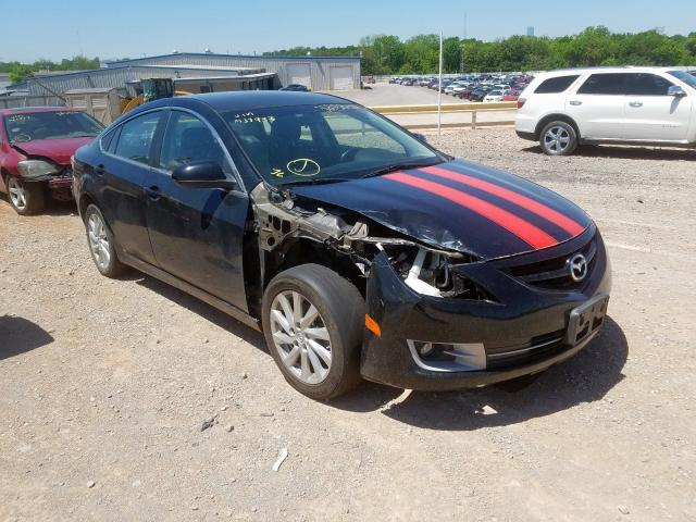 Salvage cars for sale from Copart Oklahoma City, OK: 2012 Mazda 6 I