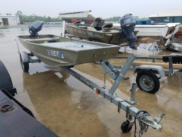 Tracker salvage cars for sale: 2014 Tracker Johnboat